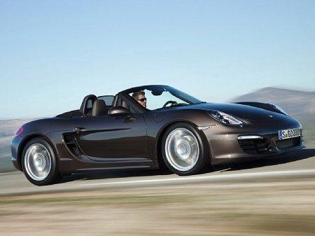Новое поколение ПОРШЕ родстера Boxster - Porsche