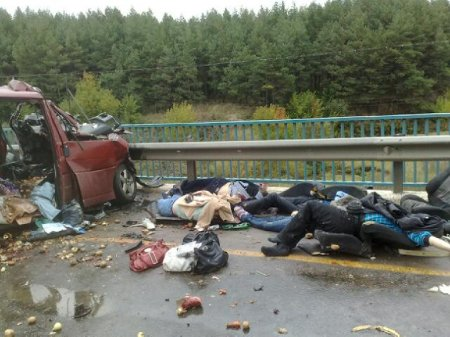 ДПТ в Чувашии на трассе «Волга» (Москва-Уфа). 9 трупов
