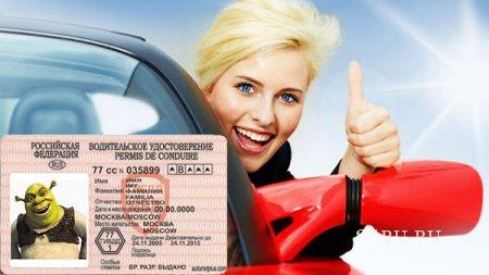 Российским водителям нужно сдавать на водительские права повторно?