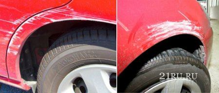 Устранение царапин автомобиля своими руками