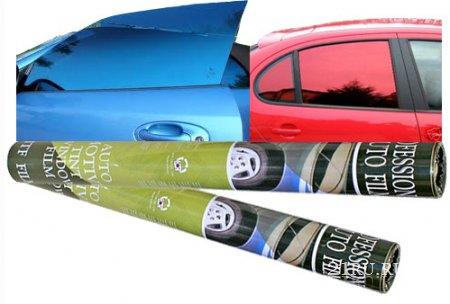 Тонировать стекла автомобиля плёнкой самому. Процесс тонировки.