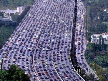 Пробки в Германии