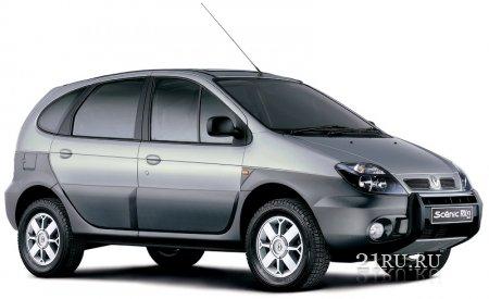 Трансформируемый внедорожник Renault Scenic RX4