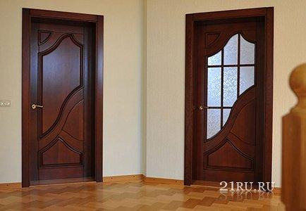 Особенности эксплуатации ламинированных дверей