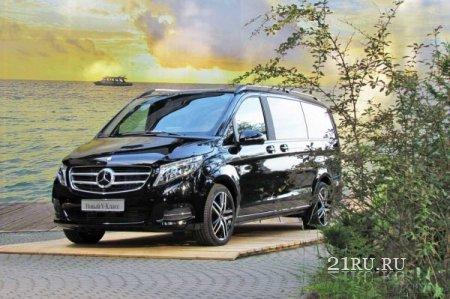 Новый Mercedes V-класса теперь такси в Сочи