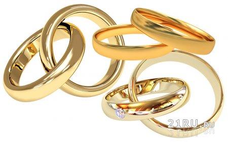 Обручальные кольца. Легенды и мифы.