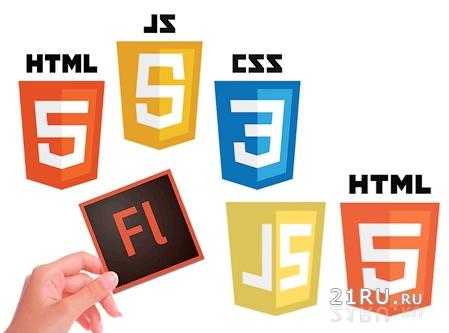 Современные технологии веб-программирования Flash, HTML5, JavaScript.