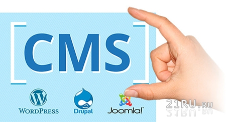 CMS – создать платформу для разработки сайта за пол часа.